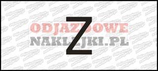 Litera Z Odblaskowa