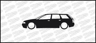 Low Audi a4 kombi Tdi 15cm