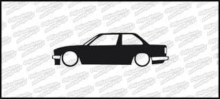 Low BMW E30 325 15cm