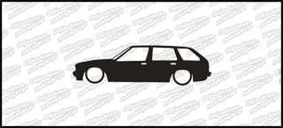 Low BMW E30 touring 15cm