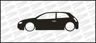 Low Fiat Stilo 15cm