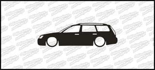 Low Ford Mondeo Kombi 15cm