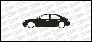 Low Ford Mondeo Sedan 15cm