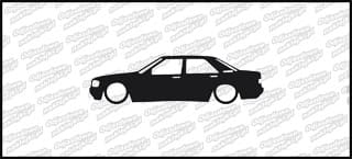 Low Mercedes Benz 190e 15cm