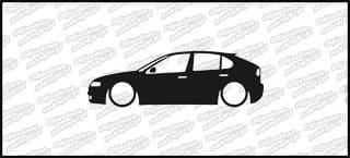 Low Seat Leon Cupra 15cm