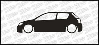 Low Toyota Corolla Hb3 15cm