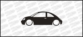 Low VW Bettle 15cm