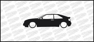 Low VW Corrado 15cm