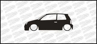 Low VW Lupo 15cm