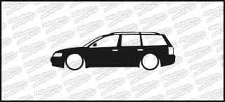 Low VW Passat b5 kombi 15cm