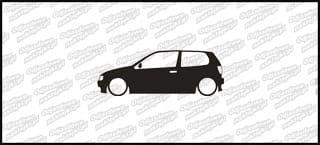 Low VW Polo GTI 6N mk3 15cm