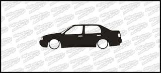Low VW Vento mk3 15cm