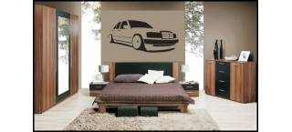 Mercedes Benz 190d 100cm czarny mat