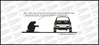 Modlitwa Fiat 126p 12cm
