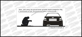 Modlitwa Audi A4 12cm