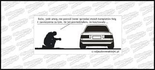 Modlitwa BMW E30 12cm