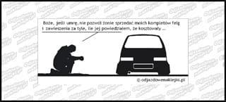 Modlitwa Fiat Cinquecento 12cm