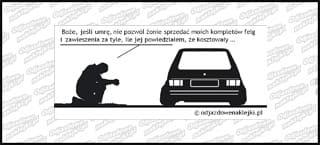 Modlitwa VW Golf mk1 12cm