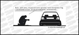 Modlitwa VW Golf mk2 12cm
