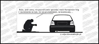 Modlitwa VW Golf mk3 12cm