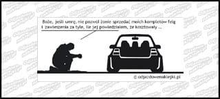 Modlitwa VW Golf mk4 12cm