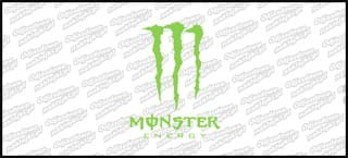 Monster Energy 15cm zielona