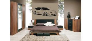 Nissan S13 Drift series 100cm czarny mat