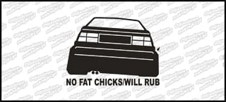 No fat chicks will rub VW Corrado 10cm