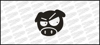 Pigmania Angry 10cm