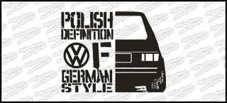 Polish definition of german VW Mk1 20cm