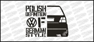 Polish definition of german style VW Golf Mk2 20cm