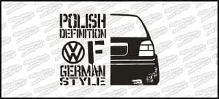 Polish definition of german style VW Golf Mk3 20cm