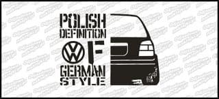 Polish definition of german style VW Golf Mk3 20cm