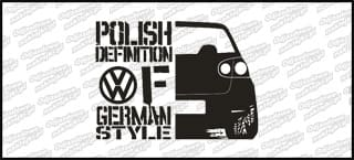 Polish definition of german style VW Golf Mk5 20cm