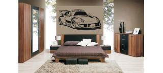 Porsche 996 RWB 100cm czarny mat