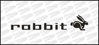 Rabbit Napis 15cm biała