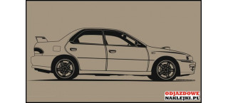 Subaru Impreza EG8 145cm