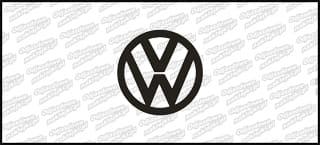 VW Logo 10cm
