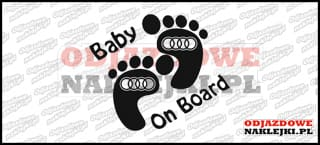 Baby on Board Audi 15cm