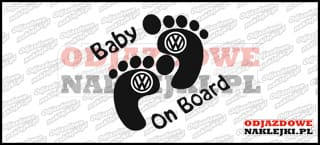 Baby on Board Volkswagen 15cm