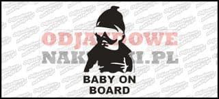 Baby on Board 15cm