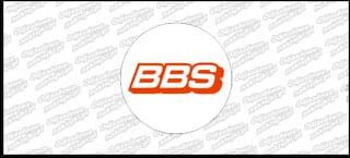 BBS naklejka na dekielek płaska A