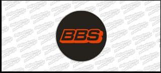 BBS naklejka na dekielek płaska B