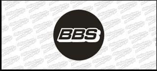 BBS naklejka na dekielek płaska C