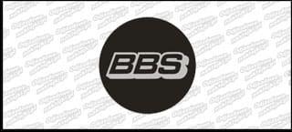 BBS naklejka na dekielek płaska E