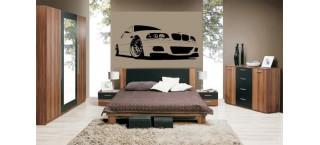 BMW E46 M3 100cm czarny mat