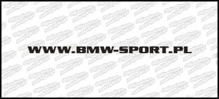 BMW-SPORT.pl 20cm