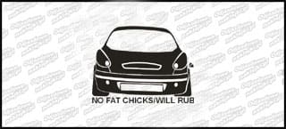 No Fat Chcks Fiat Bravo 10cm