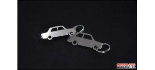 Brelok Fiat 125p Stal Nierdzewna