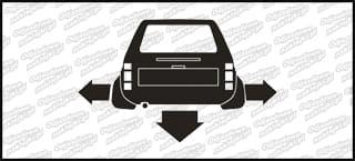Nisko i Szeroko VW Caddy 10cm